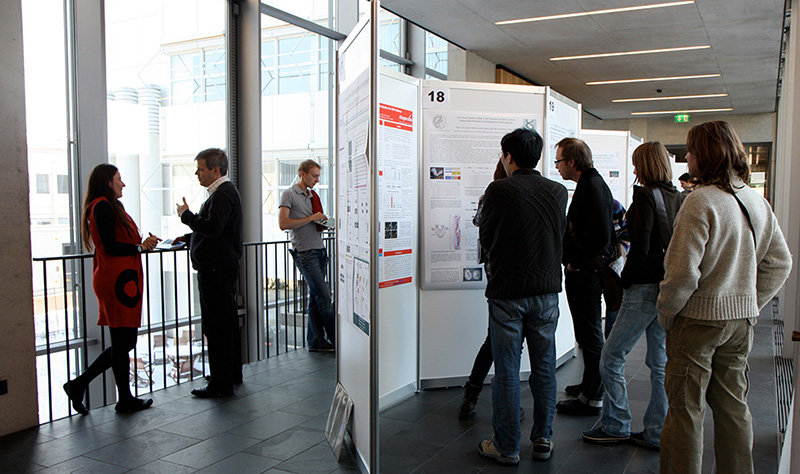 During the poster session MPI-IE